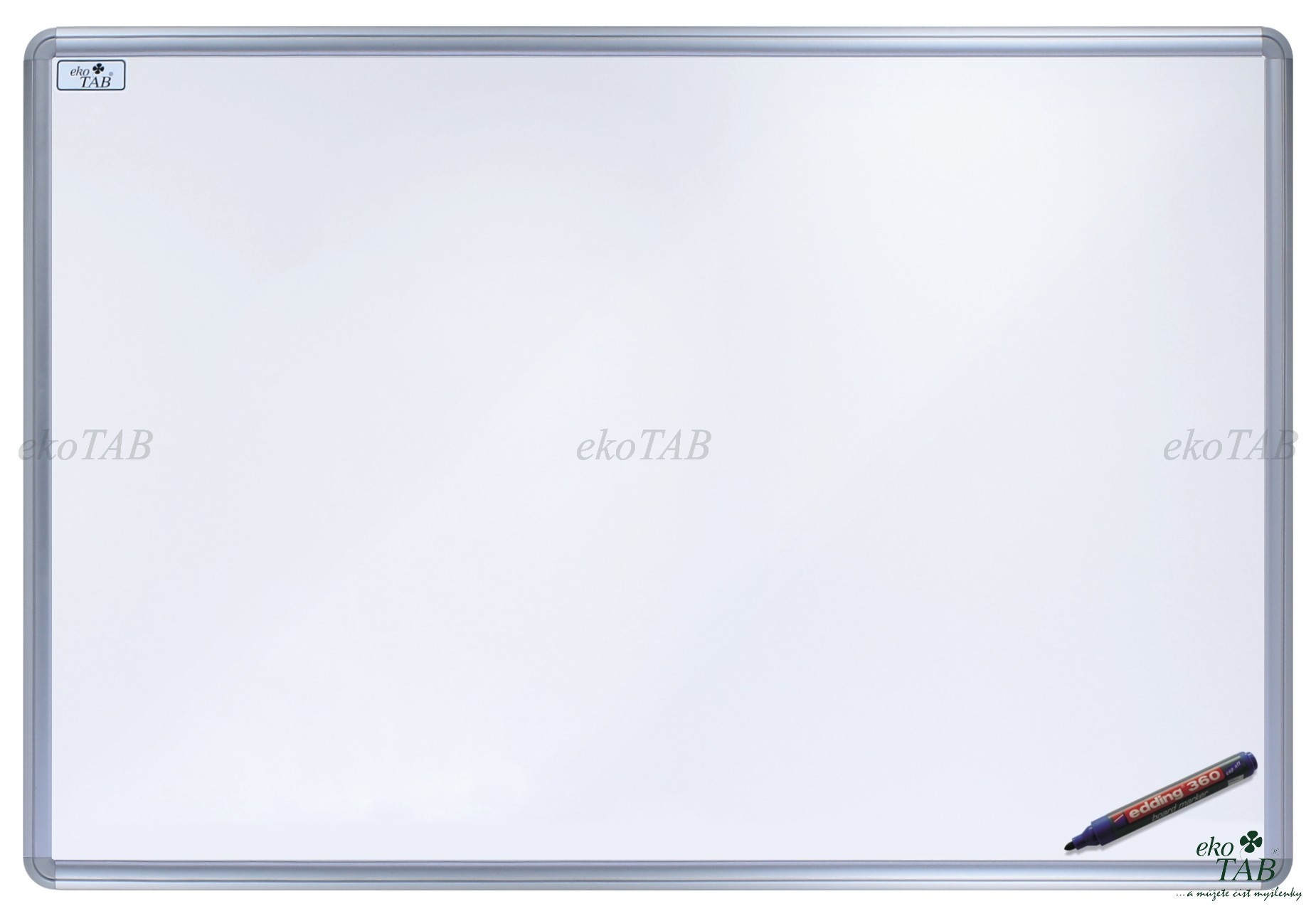 Jednodílná keramická tabule pro fix s potiskem - MANAŽER K