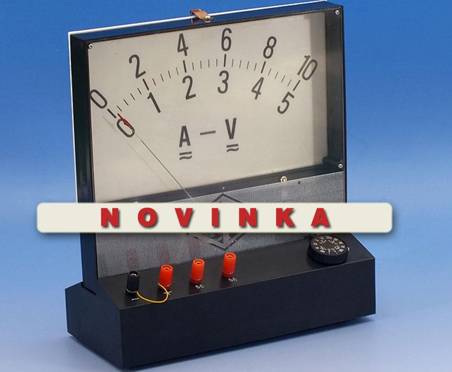 Demonstrační V/A metr Galvanometr AC/DC