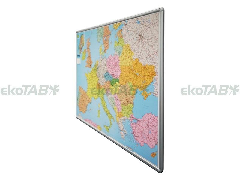 Magnetická mapa Evropa