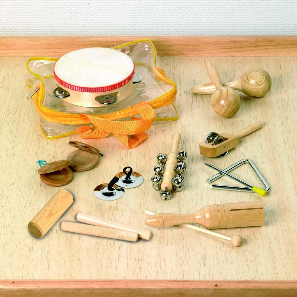 Sada rytmických nástrojů 10-kusová